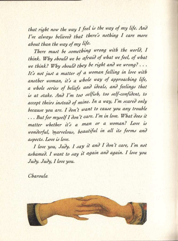 Lesbian Love Letter 19