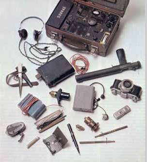 SOE agent equipment
